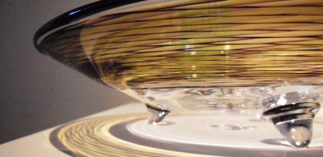 『弓戸好孝の吹きガラス展』は本日終了いたしました。