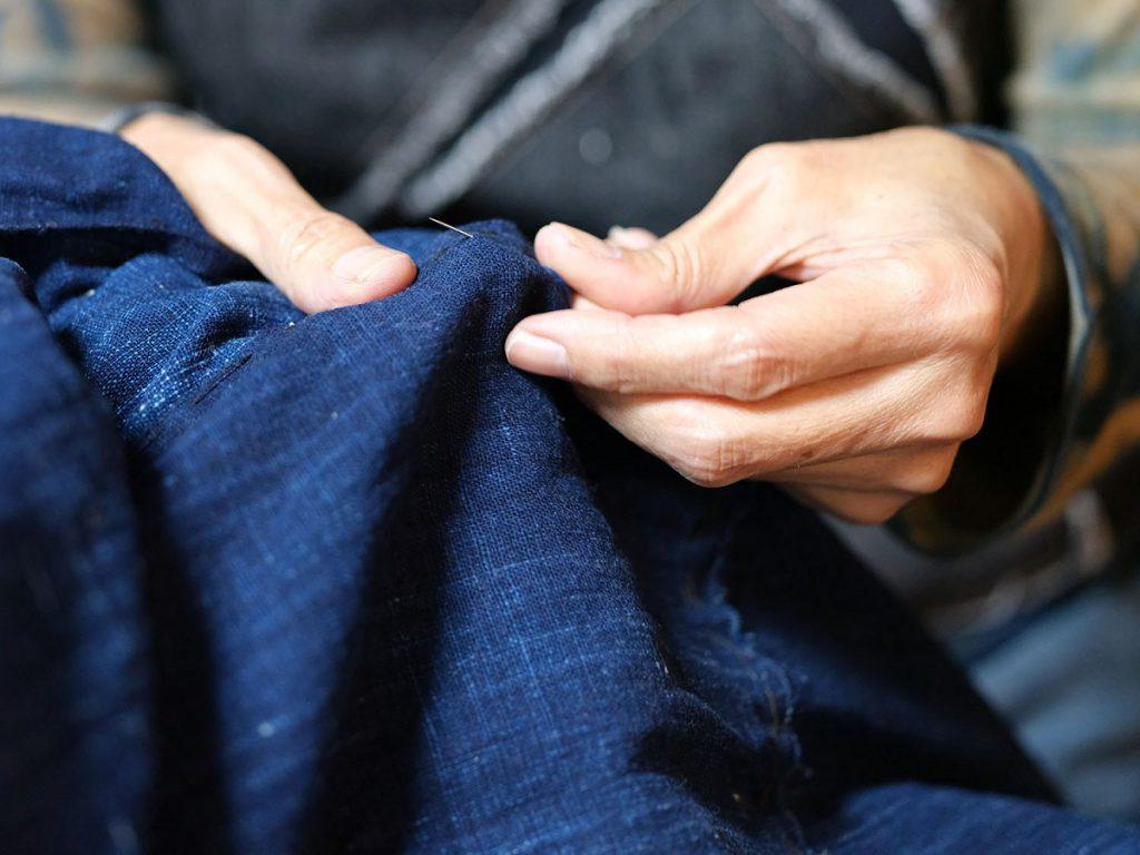 布と語る  それぞれの役目を終えた布たちが甦る「古布の美」