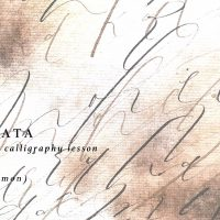 MIZUKI MURATA  exhibition & modern calligraphy lesson